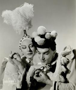 Markova & Massine, Ballet Russe de Monte Carlo, © Maurice Seymour