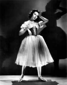 Markova as Giselle © Roger Woods