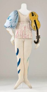 Chagall violin costume for Aleko