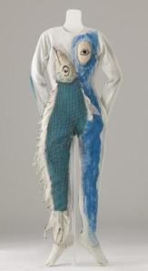 Chagall's fish costume for Aleko