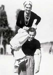 Chanel with Ballets Russes dancer Serge Lifar