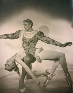 Markova and partner Anton Dolin