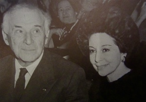 Markova and Chagall in 1967
