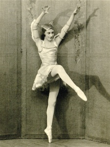 Markova in La Chatte (The Cat) at the Ballets Russes