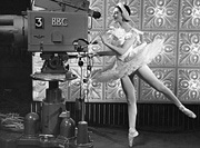 Markova on the BBC, 1957