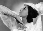Margot Fonteyn's nose pre-surgery
