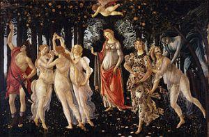 At Markova's suggestion, Botticelli's Primavera inspired the set/costume designs for Tudro's Romeo & Juliet (1943)