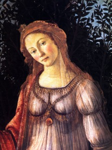 Botticelli's central figure inspired Markova's Juliet costume