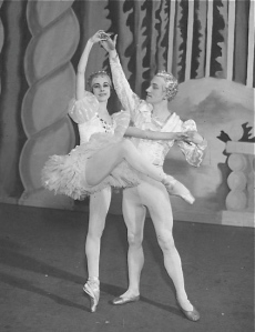 Markova and partner Stanley Judson in The Nutcracker, 1934