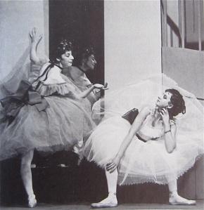 Budget fabrics lack ethereality. Markova, left In Foyer de Danse, )Ballet Club (1932