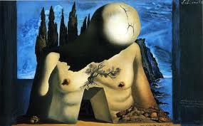 Dali's disconcerting painted backdrop for Massine's ballet Labyrinthe (1941)