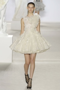 Tutu-like couture. Giambattista Valli, Fall 2013