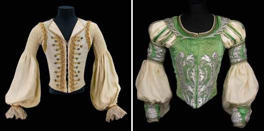 Rudolf Nureyev's costumes  (de Young Museum in San Francisco)