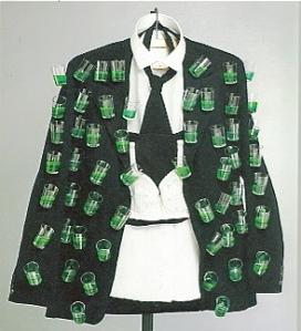 "Salvador Dali's creme de menthe ""aphrodisiac jacket"""
