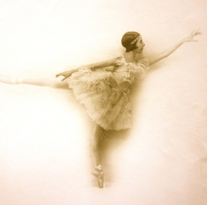 Alicia Markova, age 14, at Diaghilev's Ballets Russes