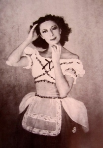 Markova as Giselle at Ballet Theatre, 1941