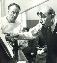 Balanchine and Stravinsky collaborated on a gargantuan task 1942 . . .