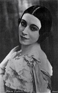 Markova at the Sadler's Wells (today's Royal Ballet)