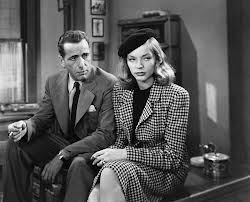 Lauren Bacall in the same outfit three years later in To Have and Have Not.