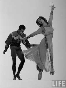 Markova and Hugh Laing in Romeo & Juliet (Life Magazine)