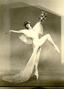 Markova at the Ballet Club in Les Masques (1933)