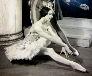 Markova was known for her poise on and off stage