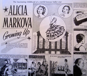 The Markova comic book - a ballerina super hero for the next generation of bun heads