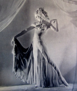 the other-worldly Markova in The Haunted Ballroom (1934)