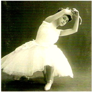 The womanly figure of Russian prima ballerina Tamara Karsavina was the ideal in the early 1900s