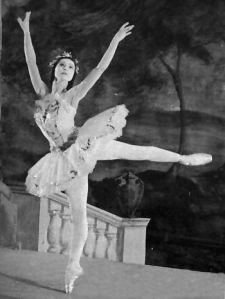 The glorious Margot Fonteyn as Aurora in The Sleeping Beauty, 1950