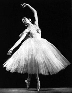 Markova performed Les Sylphides for an audience of 30,000,000!
