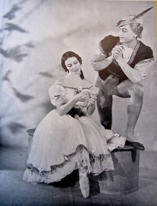 An unhappy pas de deux: egotistical Russian Serge Lifar had it in for the British Markova in Giselle (1938).