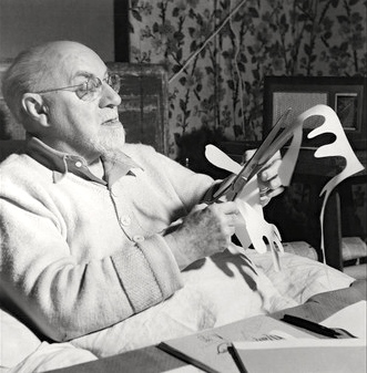 Matisse began experimenting with cut-outs when designing for the ballet.