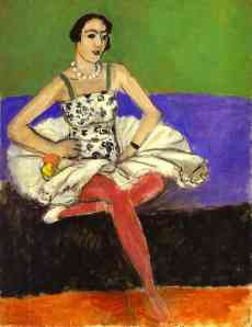 Matisse's oil, The Ballet Dancer, 1927