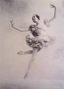 Despite Markova's prodigious appetite, she appeared lighter than air on stage.