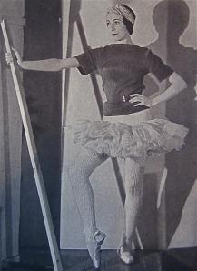 Markova invented a ballet wardrobe essential . . .